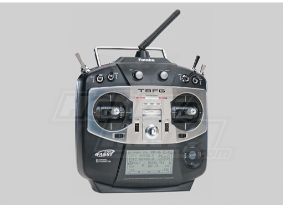 Futaba T8FG Transmitter w/R6008HS 2.4GHz Receiver (Mode 1)