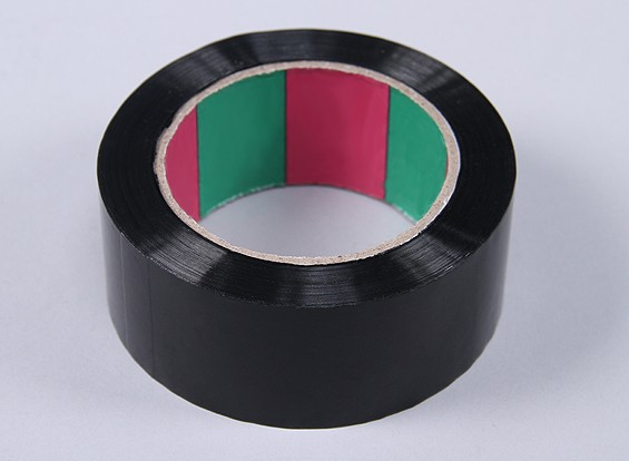 Wing Tape 45mic x 45mm x 100m (Wide - Black)