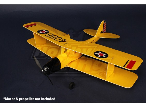 3D Tiger-Moth Airplane Model Kit