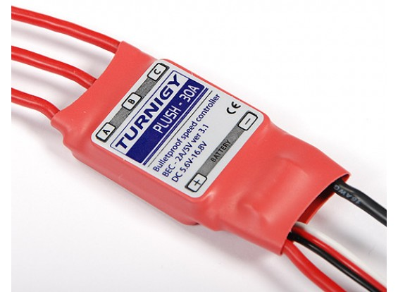 TURNIGY Plush 30amp Speed Controller w/BEC