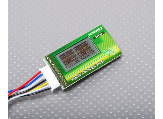 Turnigy Cell Diagnostics meter 2S~6S