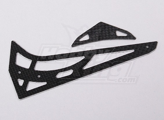 HK450V2 CF horizontal/vertical tail fin