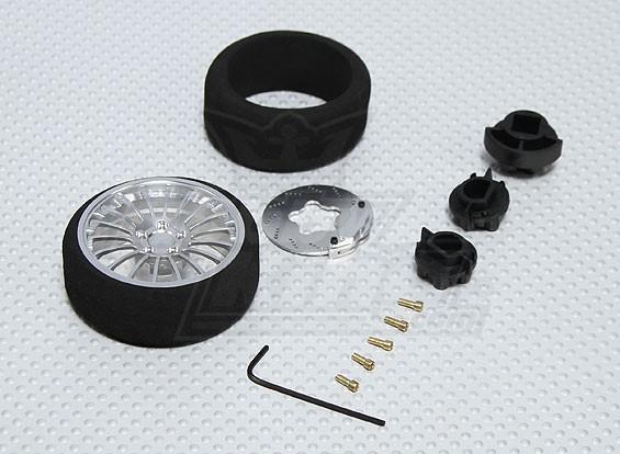 Alloy Pistol Transmitter Steering Wheel (8 spoke)