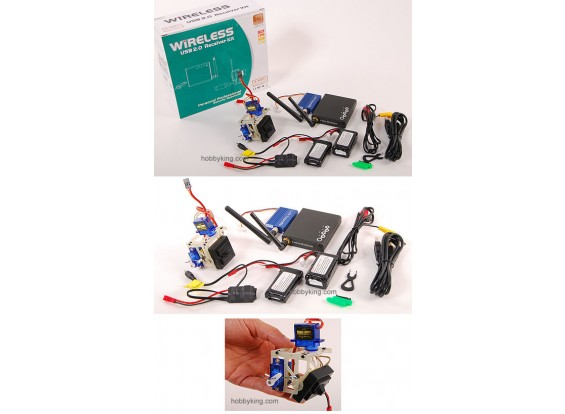 Wireless Video Kit w/ Pan-Tilt system