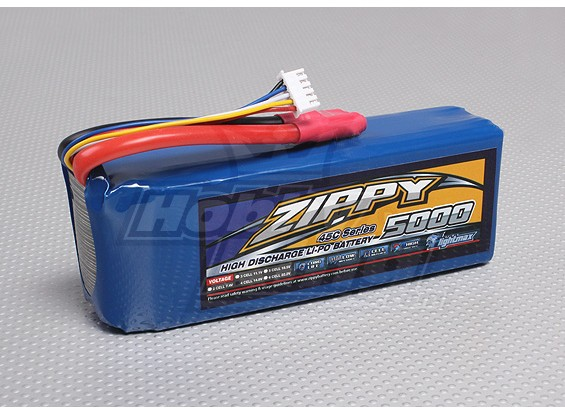 ZIPPY Flightmax 5000mAh 4S1P 45C
