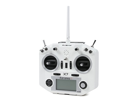 FrSky Taranis Q X7 Digital Telemetry Radio System 2.4GHz ACCST (White-no plugs) (Standard Version)