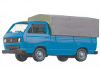 HO Scale VW T3 Pick Up Truck with Covered Cargo Bed