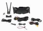 Skyzone 2D/3D 5.8GHz FPV Goggles W/ 40CH Raceband Receiver, H/Tracking (V2), 600mW VTX and 3D Camera
