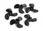 3-Blade Boat Propellers D28xD4x8mm Left (5pcs)