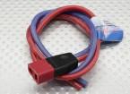 PowerBox Deans - PIK Female 2.5mm wire 30cm