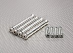 RCGF 30cc Replacement Stand Off with Bolts (4pc)