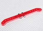 Heavy Duty Alloy 4.2in 25T Pull-Pull Servo Arm - Futaba (Red)
