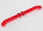 Heavy Duty Alloy 4.2in 23T Pull-Pull Servo Arm - JR (Red)