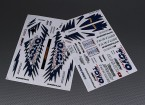 Self Adhesive Decal Sheet - Toyo 1/10 Scale