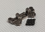 Upgrade Rear shock tower fitting with screws - A2030, A2031, A2032 and A2033