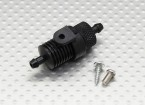 Extra Large Alloy Fuel Filter w/Firewall Mount and Heatsink