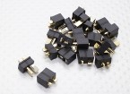 Mini black T Connector (10 Pairs)