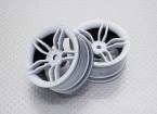 1:10 Scale High Quality Touring / Drift Wheels RC Car 12mm Hex (2pc) CR-FFW