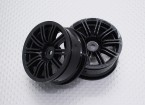 1:10 Scale High Quality Touring / Drift Wheels RC Car 12mm Hex (2pc) CR-M3NB