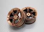 1:10 Scale High Quality Touring / Drift Wheels RC Car 12mm Hex (2pc) CR-MP4G
