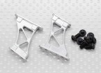 1/10 Aluminum CNC Tail/Wing Support Frame-Medium (Silver)