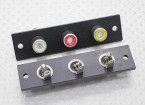 Triple RCA Socket Board (Red/Yellow/White) 2pc
