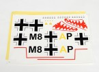 Durafly™ Messerschmitt Bf.110 - Decal