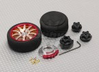Alloy Pistol Transmitter Turning Wheel 10 Spoke (gold)