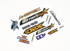 HobbyKing Sticker Sheet - Helis