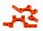Basher RZ-4 1/10 Rally Racer - Optional Front and Rear Alu. Lower Bulkhead (2pcs)