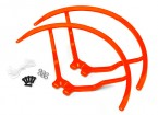 9 Inch Plastic Universal Multi-Rotor Propeller Guard - Orange (2set)