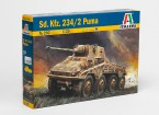 Italeri 1/35 Scale SD.KFZ. 234/2 Puma Pastic Model Kit