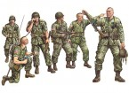 Italeri 1/35 Scale US Paratroopers Plastic Model Kit (6pc)