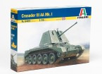 Italeri 1/35 Scale Crusader III AA MK.I Plastic Model Kit