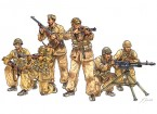 Italeri 1/35 Scale Italian Paratroopers Combat Group Plastic Model Kit
