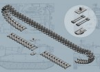 Italeri 1/35 Scale US M108/M109 Series T-136 Tracks Plastic Model Accessories