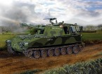 Italeri 1/35 Scale M108 Tank Plastic Model Kit