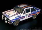 Rally Legends 1/10 Ford Escort RS1800 Unpainted Car Body Shell w/Decals