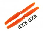 Gemfan 6030 GRP/Nylon Propellers CW/CCW Set (Orange) 6 x 3