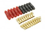 6mm Supra X Gold Bullet Polarised Connector Set (5 pairs)