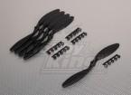 GWS Style Slowfly Propeller 8x6 Black (CCW) (5pcs)