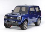 Tamiya 1/10 Scale Suzuki Jimny Metallic Blue Painted Body (MF-01X Chassis) 58621