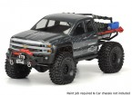 "Pro-Line Chevy Silverado Clear Body Shell for SCX10 Trail Honcho (12.3"" wheelbase)"