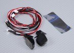 Rearview mirror with LED (2pc)