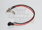 Remote Glow Plug Adapter with Negative Wire