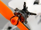 Micro 3D Single Axis Thrust Vectoring Motor Mount Kit Inc. 2206 Brushless Outrunner