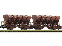 Roco/Fleischmann HO 2 Piece Tipping Bucket Wagon Set Type F-z 120 DB