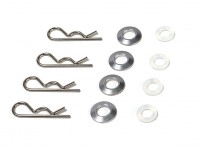 BSR Berserker 1/8 Electric Truggy - Body Clip Set 818104