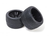 BSR Berserker 1/8 Electric Truggy - Wheel Set (Black) (Super Soft) (1 pair) 817353-K