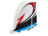 HobbyKing Bixler 2 EPO 1500mm - Replacement Vertical Stabiliser (Blue/Red)